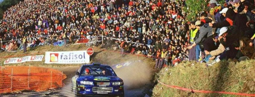 Richard Burns con la Subaru Impreza P2000
