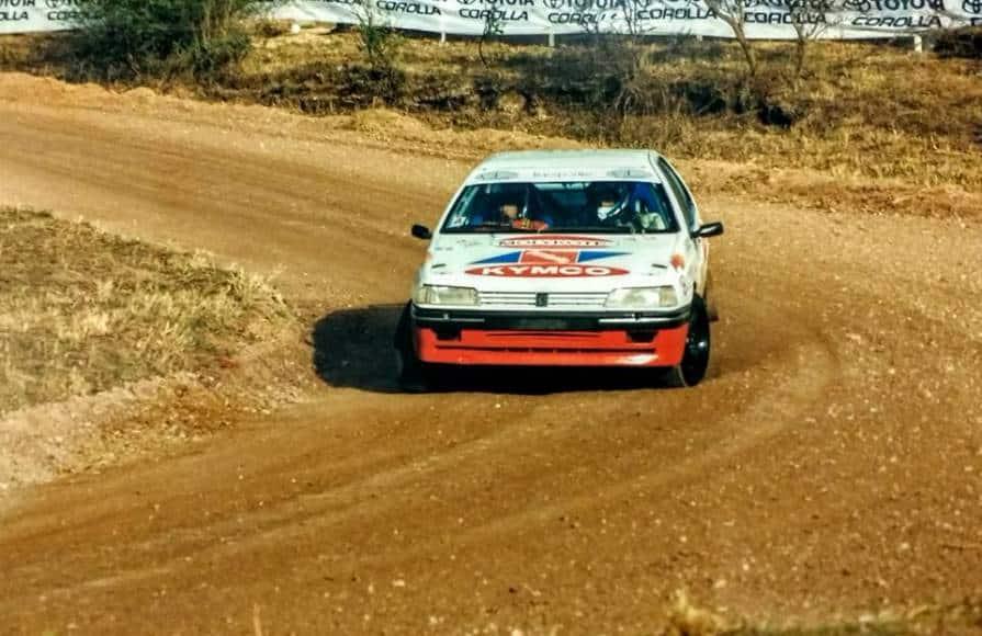 Federico e Javier Villagra al Rally Argentina 1998