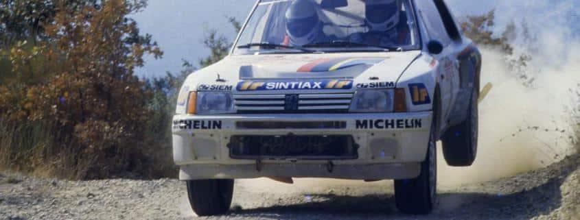 Gianni Del Zoppo e l'esordio italiano della Peugeot 205 T16