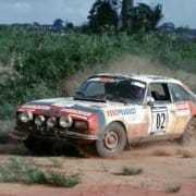 La Peugeot 504 Coupé al Rally du Bandama 1978