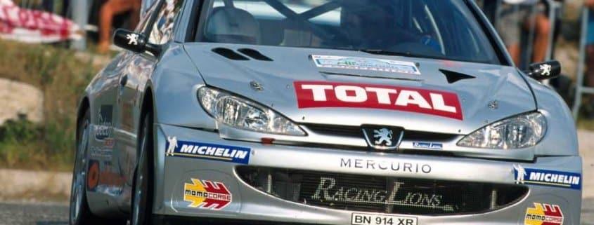 La Peugeot 206 WRC di Renato Travaglia
