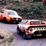 La Lancia Stratos preparata da Claudio Maglioli