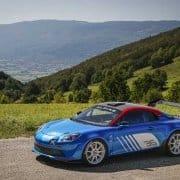 La Alpine Renault A110 debutta a Monza