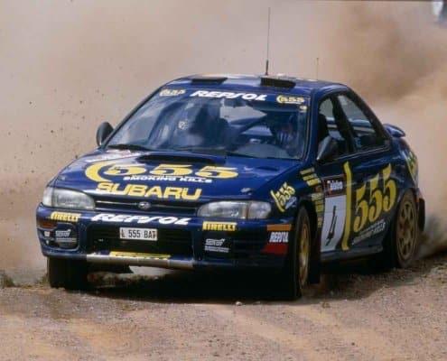 Colin McRae nella stagione 1995 del WRC