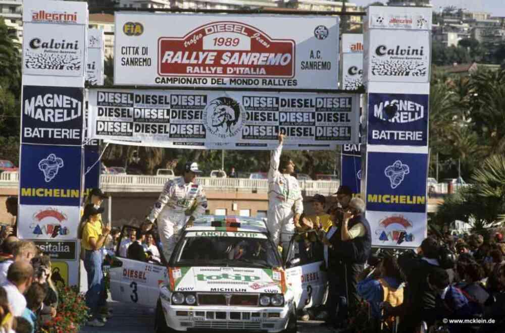 Alex Fiorio, Rally Sanremo 1989