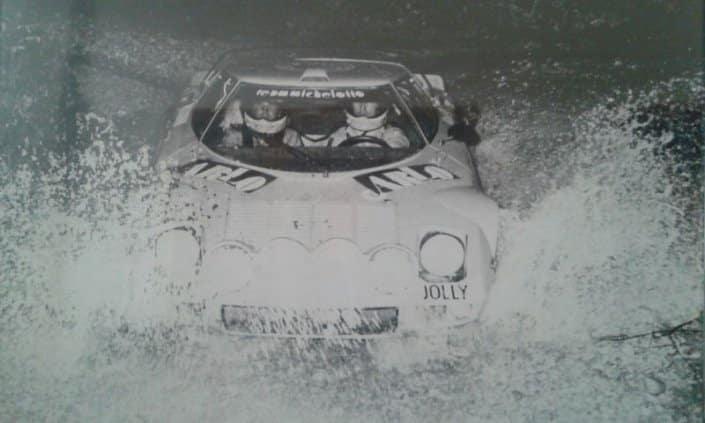 Altoe-Fornari su Lancia Stratos HF al Rally del Bellunese