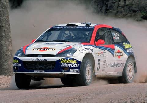 Colin McRae, Acropolis Rally 2000