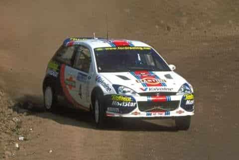 Colin McRae e Nicky Grist, Rally di Argentina 2001