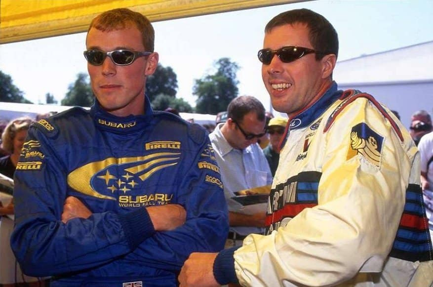 Colin McRae e Richard Burns