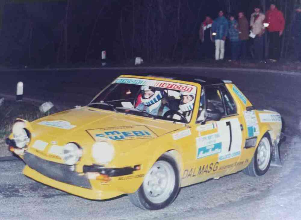 Cristina Larcher debutta al rally Sprint Monte Venda