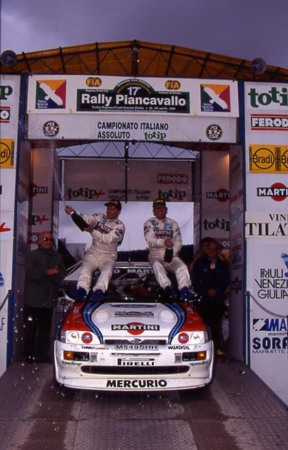 Franco Cunico vince il Rally Piancavallo