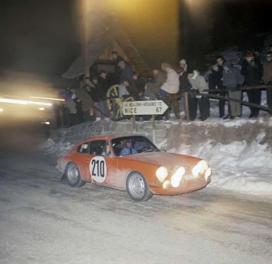 MonteCarlo 1968: la prima vittoria della Porsche 911 per mano di Vic Elford