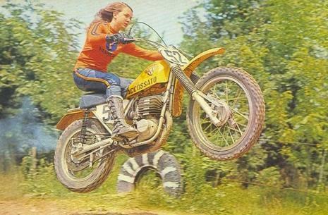 Donne e due ruote: Fabrizia Pons versione motocross