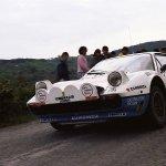 La Ferrari 308 GTB di Federico Ormezzano al Rallye Elba 1984 (foto Claudio Ulivelli/archivio Francesco Calafuri)