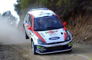 La prima versione di Ford Focus WRC evoluta fino al 2002