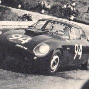 Franco Patria con la Flaminia Zagato al Targa Florio 1963