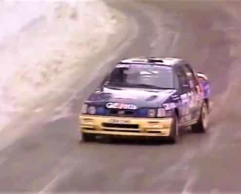 Il Monte 1991 e quel sogno con Sainz, Biasion e Delecour