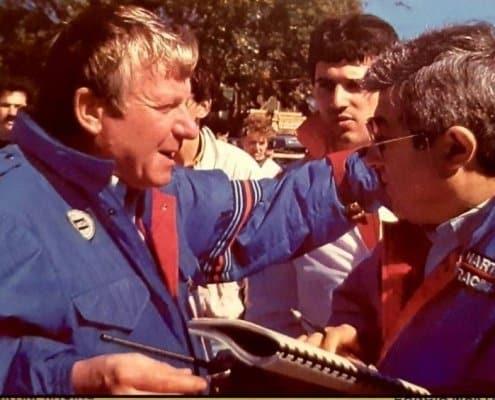 Giorgio Pianta e Ninni Russo nel team Lancia Martini