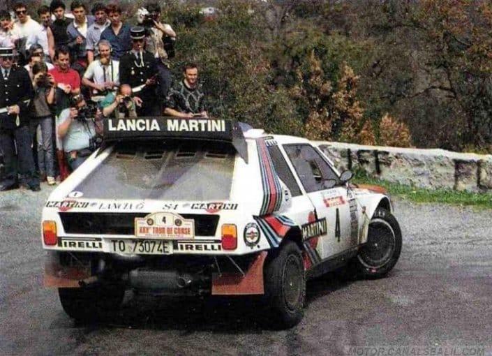 Henri Toivonen e Sergio Cresto al Tour de Corse 1986
