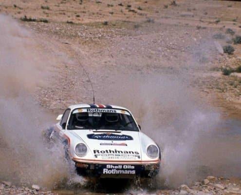 Henri Toivonen con la Porsche 911 SC RS Gruppo B Prodrive