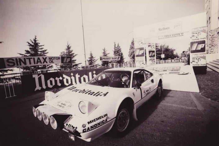 La Ferrari 308 GTB Gruppo B di Michelotto