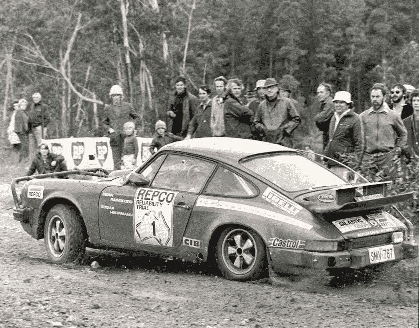 La 911 Carrera al test Repco in Australia
