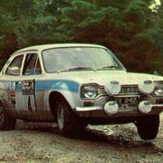 La Ford Escort MK1 al Rally del Galles 1972