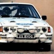 La Ford Escort MK3 RS1700 Turbo in azione