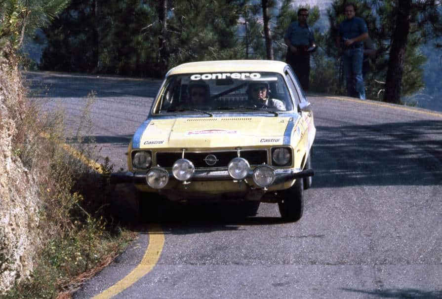 La Opel Ascona nel 1980 era una vettura che riscuoteva successo
