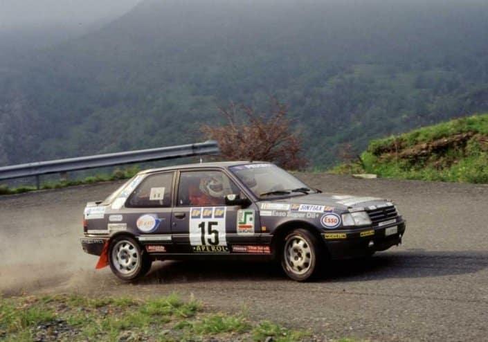 La Peugeot 309 GTI, i rally e Paolo Andreucci