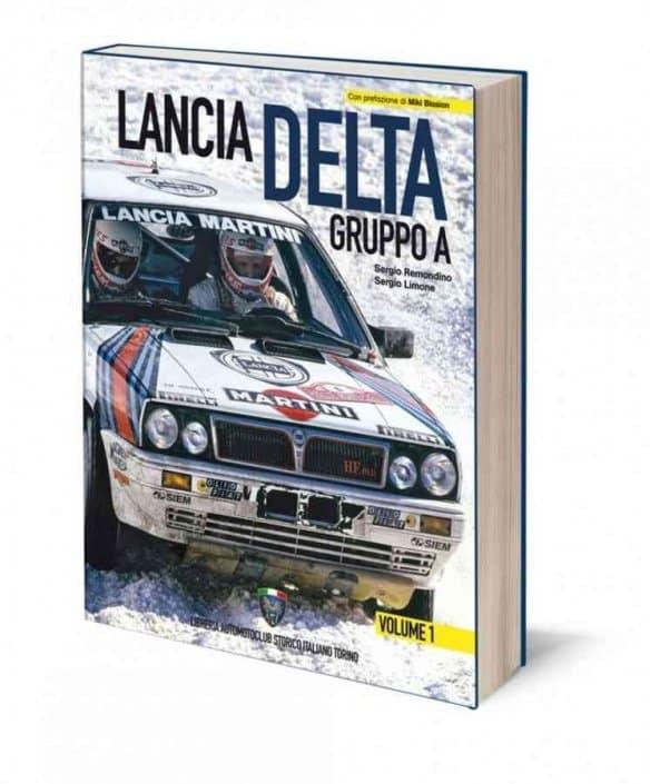 La Lancia Delta Gruppo A in due volumi dell'ASI