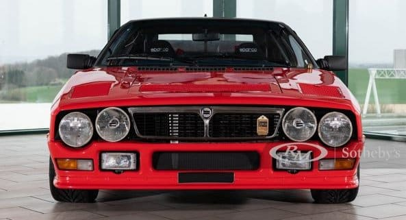 Lancia Rally 037 asta Sotheby's