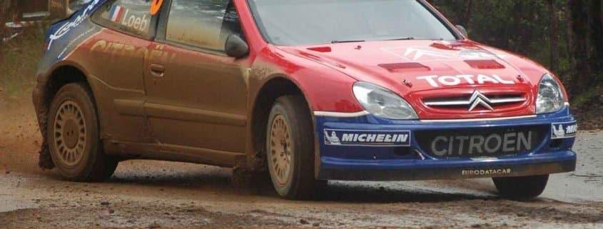 Al Rally di Australia 2004 Loeb in fuga su Rovanpera e Duval