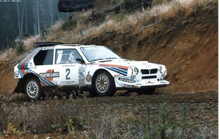 Olympus Rally 1986: Markku Alen campione per 11 giorni