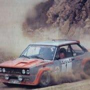 Maurizio Verini e Mario Mannucci al Rally Elba 1978