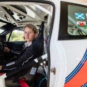 Max McRae debutta nei rally in patria