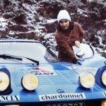 Michèle Mouton con la Lancia Stratos Chardonnet