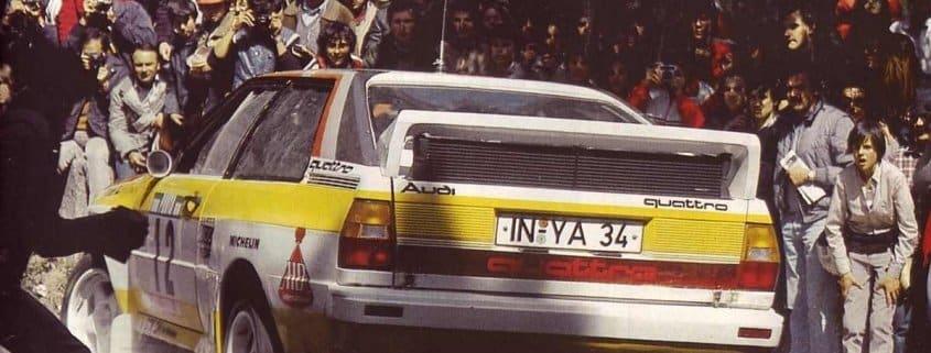 Michèle Mouton si sentiva perfettamente a suo agio in una vettura rally