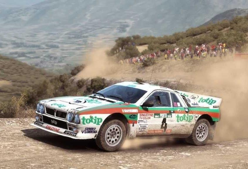 Miki Biasion al Rally Portogallo del 1984