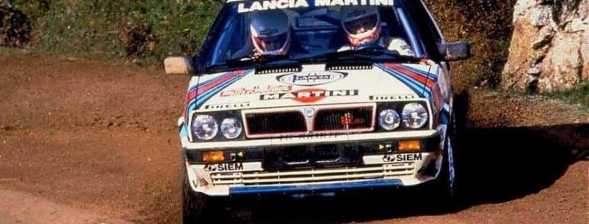 Miki Biasion Rally del Portogallo 1987