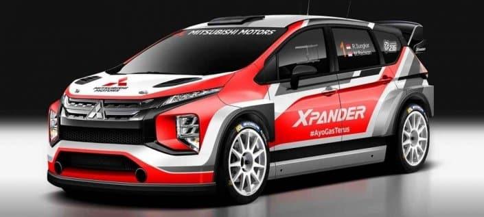 In Asia arriva la Mitsubishi Xpander AP4 da rally