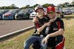 Oliver Solberg con papà Petter, un sogno da campioni