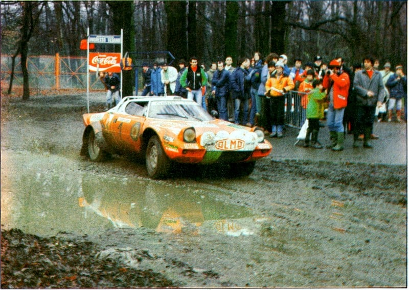 Ormezzano-Berro, Rally di Monza 1982