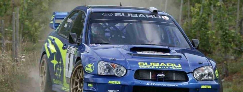 Petter Solberg Subaru Impreza WRC