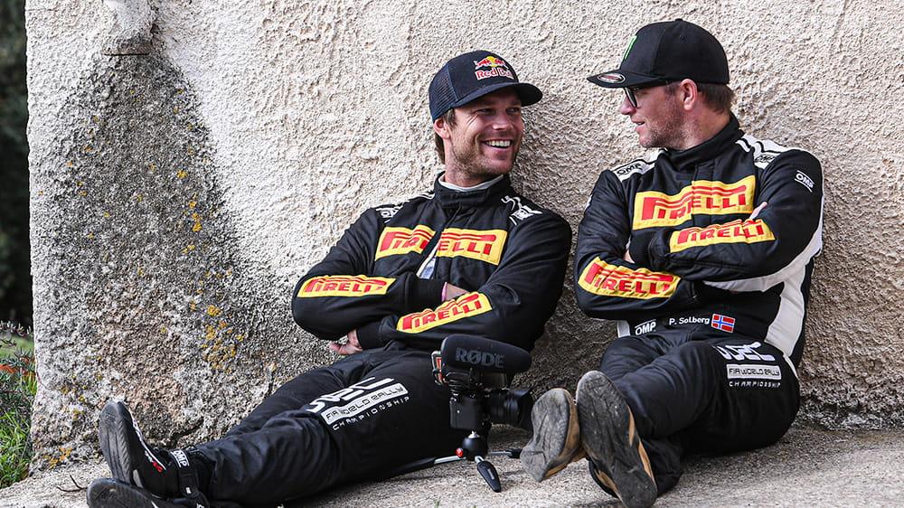 Petter Solberg e Andreas Mikkelsen