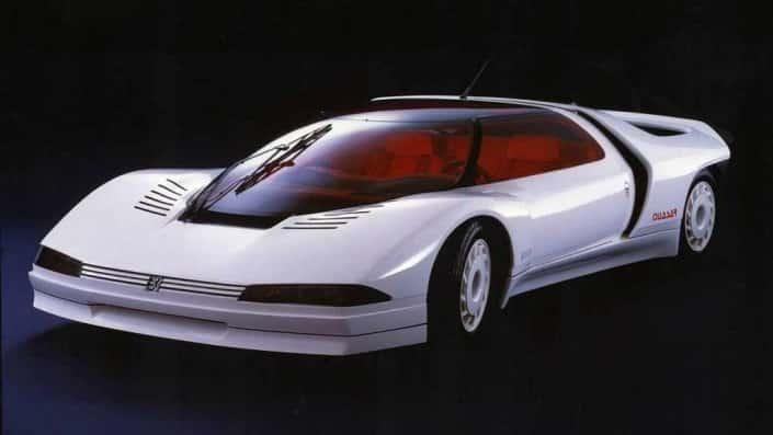 Dallo chassis della 205 T16 fu ricavata la Peugeot Quasar