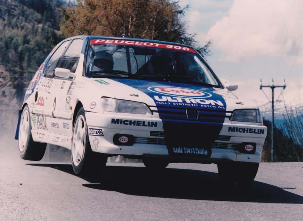 Pier Giorgio Deila durante la stagione 1996, in questa foto al Valle d'Aosta
