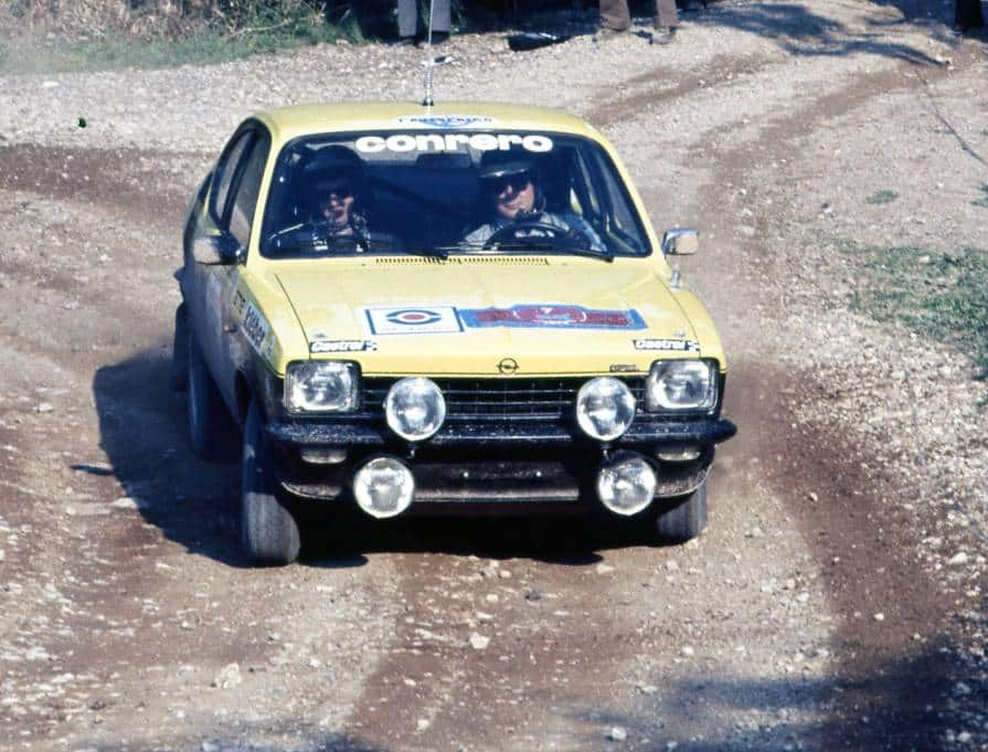 Presotto al Rally Elba 1977