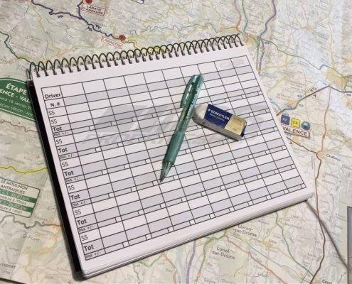 Quaderno delle note di un copilota