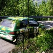 Uno scatto del Rally Valle d'Aosta 1998